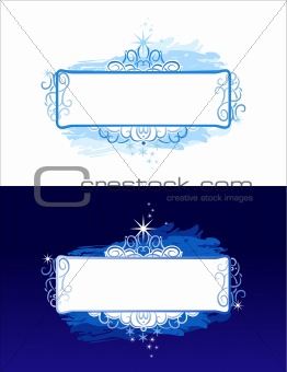 christmas banner / vector background