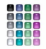 Square Pearls Buttons