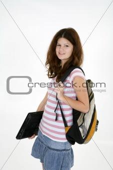 Portrait of teen