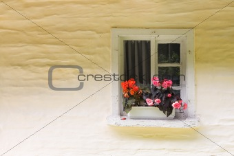 small rural window