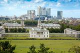 Looking over Greenwich