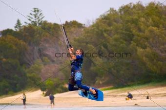 Kiting Gold Coast Australia