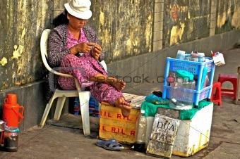 Street Shop, Saigon Vietnam