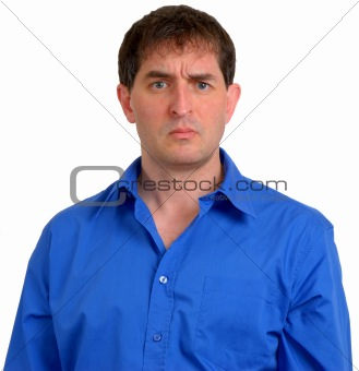 Man in Blue Dress Shirt 11