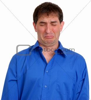 Man in Blue Dress Shirt 6