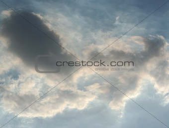 Backlit Clouds
