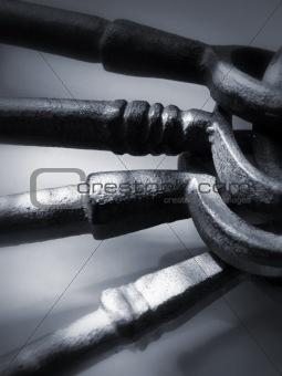 Antique Keys 2 - Pewter