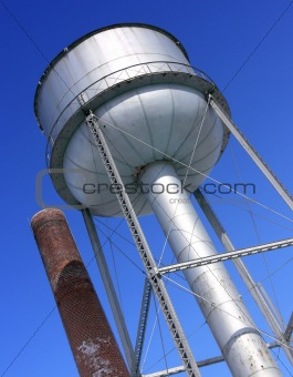 Water Tower and Chimney