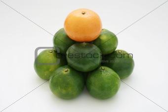 citrus pyramid