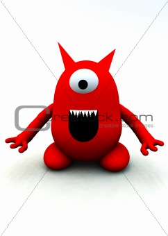 Tiny Red Monster 3