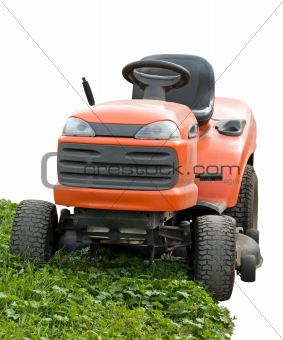 city lawnmower machine