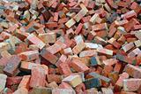 Red Construction Bricks
