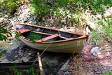 Old rowboat