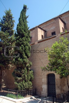 a church in spain