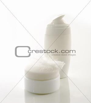 Skin care set islated