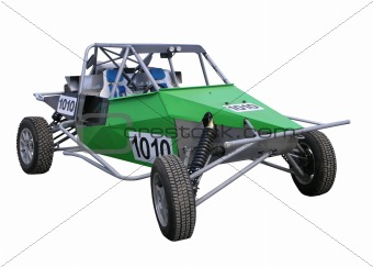 Green Off Road Buggy