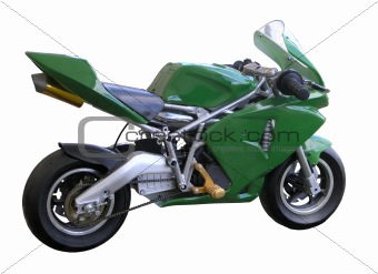 Green Pocket Bike