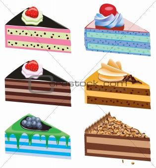 cake slices
