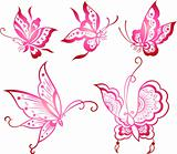 butterfly icon design