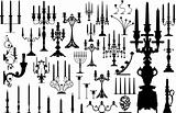 great vector set of candles
