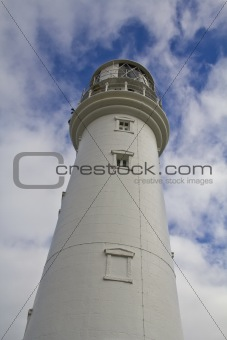 The White Lighthouse at Flamborough