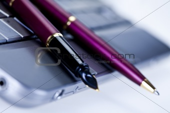 Business concept the ballpoint