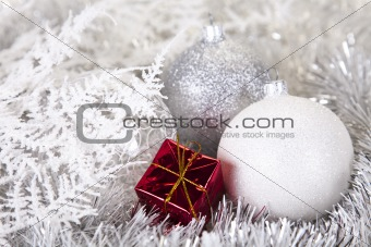 Baubles as a symbol of Christmas