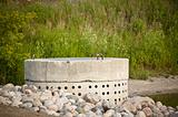 Stormwater Management System - Perforated Concrete Pipe