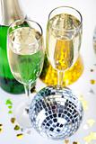 Champagne,New Year&#39;s, Celebration