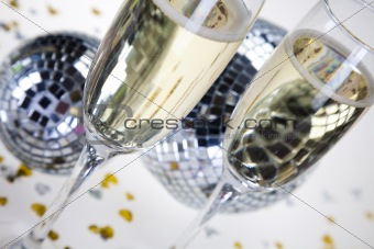 Champagne,New Year's, Celebration