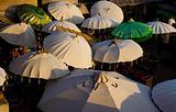 Umbrellas Shade Market Bali