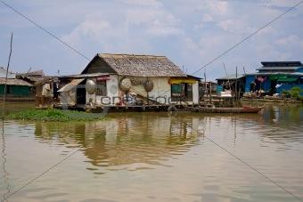Cambodian Floating Village