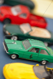 Small Colored Cars