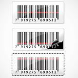 barcode with rays