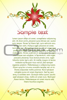 classical colorful background