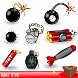 Bomb icons