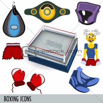 boxing icons