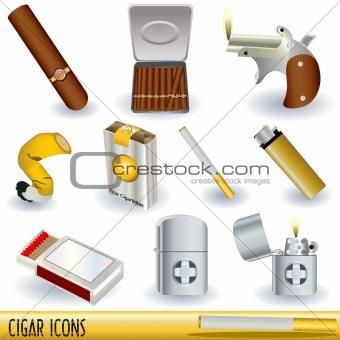 Cigar icons