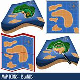 Map Icons - Islands