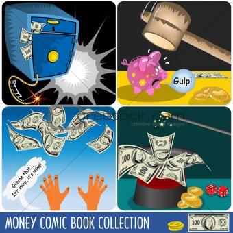 Money Comic Book Collection