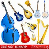 String music instruments