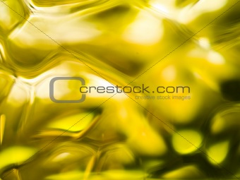 Abstract of a Yellow-tone Glass Block Window