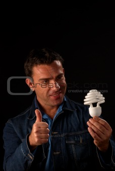 Thumbs up to energy saving