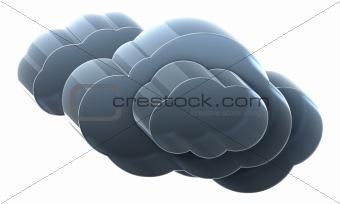 Very heavy cloud.