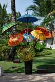 Colorful Pajeng Umbrella