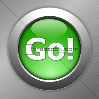 green go button