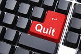 quit button