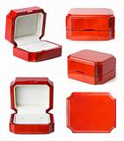 Little jewelry wooden boxes set