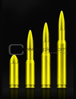 Set of bullets
