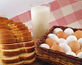 Milk, Eggs, and Bread The Breakfast Staples